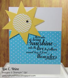 Get Crafty with Lisa: Feel Goods: Sunshine Punch Art