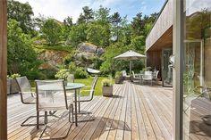 Patio wooden deck