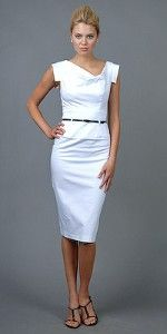 Classy Little White Dresses by Black Halo