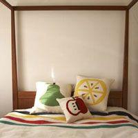 Blankets, Cushions, Hudson's Bay Point Blankets and Jonathan Adler Cushions