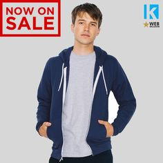 Sale! american #apparel #hoodie zip hoody in 22 #colours sizes xs - xxl cheap pri,  View more on the LINK: 	http://www.zeppy.io/product/gb/2/272528772144/