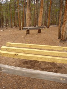 Challenge Course Log Jam