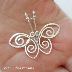 Charming butterfly pendant. Craft ideas from LC.Pandahall.com #pandahall | Jewelry Pendants & Charms | Pinterest by Jersica