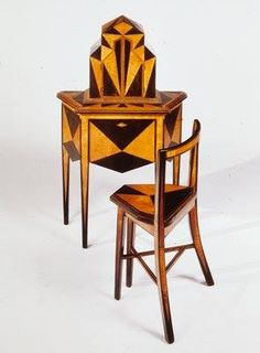 art deco furniture 1920s. 1927 ebonized walnut and maple marquetry with mechanized doors minneapolis institute of arts art deco furniture 1920s