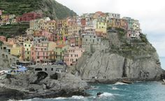 The town of Manarola, one of the most picturesque points of the Cinque Terre. (From: Photos: 13 Travel-Inspiring Scenes from Italy's Cinque Terre)