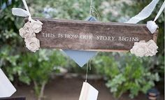 Love Sparkle Pretty: Fun Wedding Signs