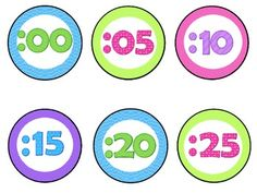 Clock Labels! Free download!
