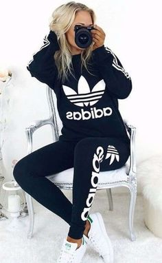 Image result for outfits adidas girl 2018 Pantalon Adidas 18d46dfd924e6