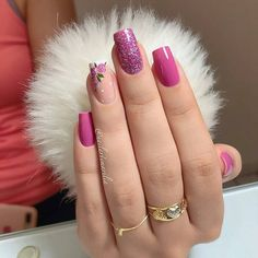 Semi-permanent varnish, false nails, patches: which manicure to choose? - My Nails Bright Summer Nails, Summer Acrylic Nails, Spring Nails, Autumn Nails, Manicure Colors, Nail Colors, Acrylic Nail Designs, Nail Art Designs, Nails Design