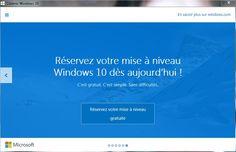 Activer l'icône de réservation de Windows 10