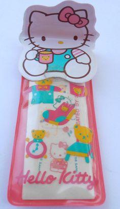 Vintage Hello Kitty Bandaids Sanrio Bandaids Kawaii Band Aids Red Sanrio Collectibles Red Plastic Pouch Hello Kitty Boo Boo Vintage Bandaids on Etsy, $52.00