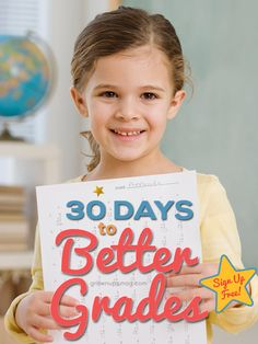 Register for our e-course FREE and help your child achieve better grades in 30 days!
