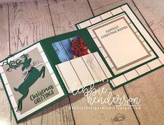 Designer Paper Gift Card Card Fold Just In Time For Christmas & VIdeo! - Debbie's Designs: Designer Paper Gift Card Card Fold Just In Time For Christmas & VIdeo! Fancy Fold Cards, Folded Cards, Holiday Greeting Cards, Xmas Cards, Gift Cards Money, Gift Card Cards, Gift Tags, Christmas Gift Card Holders, Card Tutorials