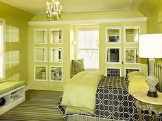 Green Color | ... : beautiful wallpapers , bedroom decor , green colors , paint colors