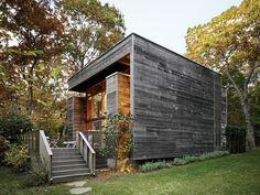 Cyprus Facade Renovation of Henry Bates house in Amagansett, New York, Hamptons