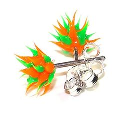 Orange / Green Silver Earrings Ear Pair Studs w/ Biocompa... https://www.amazon.co.uk/dp/B008QL1FYK/ref=cm_sw_r_pi_dp_x_1XPqzb55BR3FP
