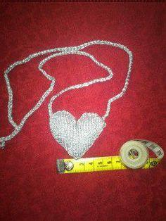 Knitted heart - strikka hjerte