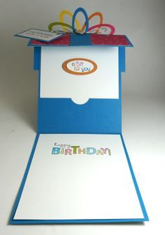 I made this gift card holder birthday card using some of the SAB DSP, Ice Cream Parlor. The paper is so vibrant and it's actually a kit with self adhesive die cuts! This will be the other ca…