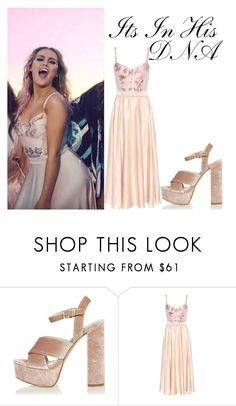 """Perrie Edwards Shout Out To My Ex Video"" by ashleycostellostyle ❤ liked on Polyvore featuring River Island and STELLA McCARTNEY"