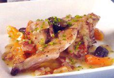 Receta de Conejo con frutos secos en http://www.recetasbuenas.com/conejo-con-frutos-secos/ Prepara un buen guiso de conejo con frutos secos de forma rápida y sencilla . La carne de conejo resulta exquisita si se cocina estofada. #recetas #Carne #conejo