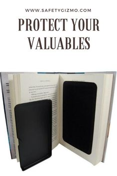 Protect your valuables at home or while traveling with this book diversion safe. To be criminals won& be able to find your items in this cleverly disguised book. Safe Home Security, Security Cameras For Home, Home Security Systems, Diversion Safe, Hidden Safe, Hidden Spy Camera, Book Safe, Hidden Rooms, Home Safety