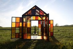 Solarium, House Made Out Of Caramelized Sugar by William Lamson