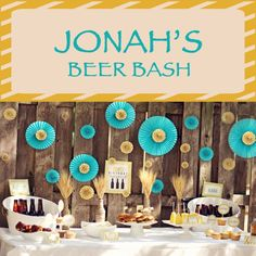 Jonah's Birthday {Brew Bash} » Lb Boutique Blog