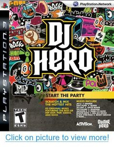 Wii DJ Hero Games Preowned 2009 Start the Party Scratch & Mix Hottest Hits Hero Games, Wii Games, Xbox 360 Games, Music Games, Dj Am, Dj Shadow, Start The Party, Tears For Fears, Daft Punk