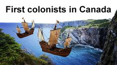 European colonization of present-day Canada began as early as the century, when West Norse sailors explored and briefly settled limited areas on it. French Immersion, 11th Century, Present Day, First Nations, Social Studies, Homeschool, Canada, Teaching, Explore