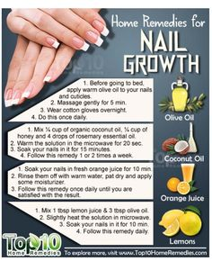 Remedies for Nail Growth Natural Home Remedies for Nail Growth. Use these home remedies to grow your nails, fast and strong.Natural Home Remedies for Nail Growth. Use these home remedies to grow your nails, fast and strong. Top 10 Home Remedies, Natural Home Remedies, Home Remedies Beauty, Herbal Remedies, Health Remedies, Nail Growth Tips, Fast Nail Growth, Ongles Forts, How To Grow Nails