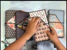 ▶ Traveller's Notebook or Journal - Midori / Fauxdori Sty - YouTube