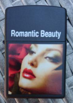 Zippo Romantic Beauty Prototype Amber
