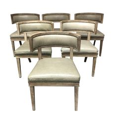 Carter Dining Chairs - Set of 6 on Chairish.com