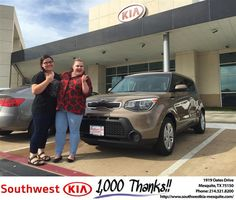 https://flic.kr/p/Mq14CH | #HappyBirthday to Courtney from JERRY TONUBBEE at Southwest Kia Mesquite! | deliverymaxx.com/DealerReviews.aspx?DealerCode=VNDX