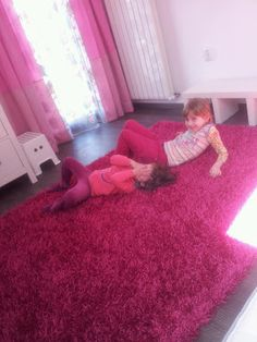 Pink bedroom for the girls!