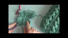 How to join hairpin lace strips together, video tutorial by Bernat Yarns