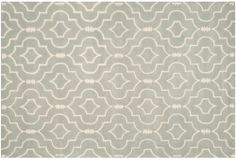 One Kings Lane - Pattern & Color - Leon Rug, Gray/Ivory