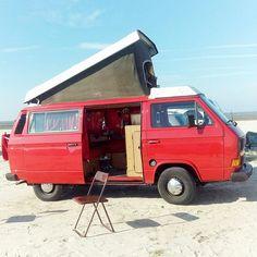 Wunderschöner Campingplatz am Strand in Bensersiel - Bulli am Strand