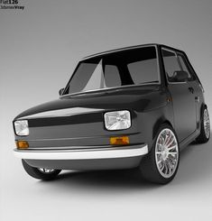 Fiat 126 is a two Cylinder Rear Air cooled engine. Top speed was 95 kph downhill with a wind at your back. 65 to 75 kph was normal operating speed on flat ground. 4 Speed Transmission with Clutch was very mechanical but good. Fiat 126, Retro Cars, Vintage Cars, Automobile, Fiat Abarth, Small Cars, Car Car, Sport Cars, Concept Cars