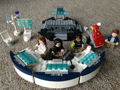 STAR Labs LEGO ※ The Flash CW Lego ※  Doctor Wells ※ Cisco Ramon ※ Caitlin Snow ※ Barry Allen Lego