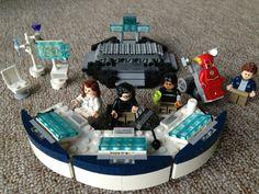 STAR Labs LEGO ※ The Flash CW Lego ※ Doctor Wells ※ Cisco Ramon ※ Caitlin Snow ※ Barry Allen Lego