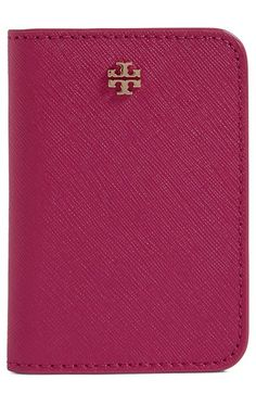 Tory Burch 'York' Transit Pass Case available at #Nordstrom