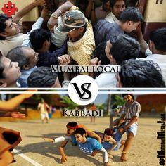 Oye Connect Absolutely no difference !!  #MumbaiMeriJaan #MumbaiLife #kabbadi #MumbaiLocal #Comic