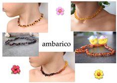 Collar de autentico ambar baltico para bebes, niños, con certificado . Chain, Natural, Jewelry, Fashion, Certificate, Amber Necklace, Birth, Christening, Pendants