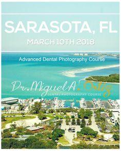 DENTAL PHOTOGRAPHY  COURSE. MARCH 10TH 2018. SARASOTA Florida.  Come join me for a full day of Dental photography training. Small group. Didactic and hands on. Few Spots Left. Visit www.maophotographs.com. To register. See you there!!! ___________________________________. CURSO DE FOTOGRAFÍA DENTAL. 10 de marzo de 2018. SARASOTA Florida. Únase a mí para un día completo de capacitación en fotografía dental. Grupo pequeño. Didáctico y práctico. Quedan pocos lugares. Visite…