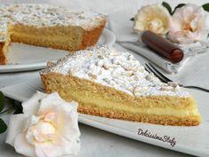 Torta della Nonna,ricetta - Dolcissima Stefy