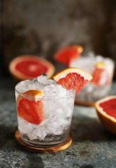 This Grapefruit Vodka Soda is a refreshing, seasonal take on a classic (and super simple) cocktail. No grapefruit? Use any citrus you like!