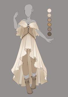 Inspiration for Effie's dress and leggings.