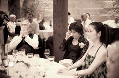 Running Order of Wedding Speeches can vary depending on Religion or Culture, or even personal experience. The main objective in this portion of the wedding to make sure that the guests are in position to properly pay attention