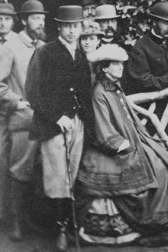 The Prince of Wales with his mother-in-law Queen Louise of Denmark and sister-in-law Princess Dagmar later Empress of all the Russias, 1863 Queen Victoria Prince Albert, Princess Victoria, Queen Victoria Descendants, Alexandra Of Denmark, King Edward Vii, Princess Alexandra, Danish Royal Family, Danish Royals, People Of Interest